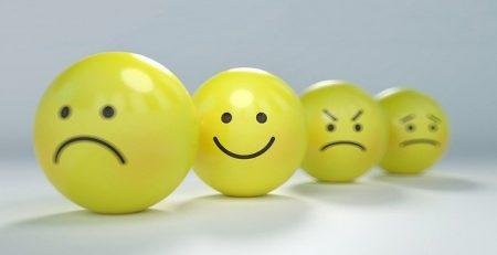 inteligência emocional com emoções representadas